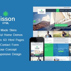 Tisson - Multipurpose HTML Theme