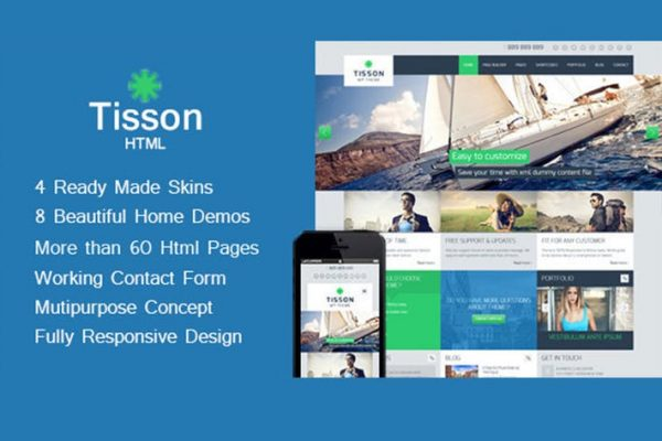Tisson - Multipurpose HTML Theme