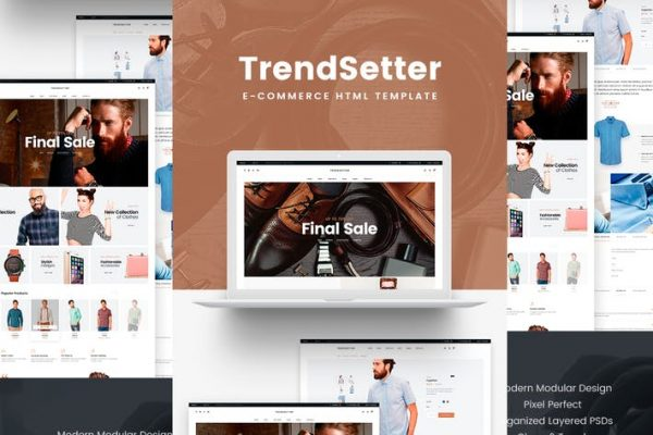 Trendsetter - e-Commerce HTML template