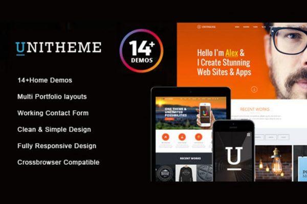 UniTheme - Responsive Multi-Purpose HTML Template