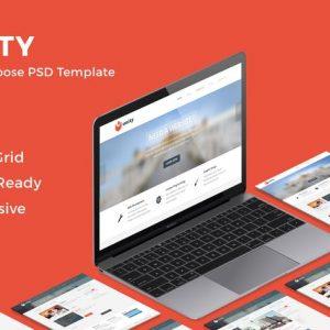 Unity - Multipurpose PSD Template