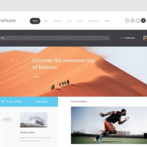 Voltov - Blog and Magzine HTML Template
