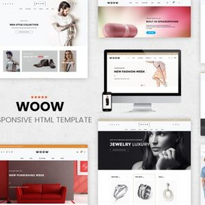 WOOW - HTML eCommerce Template