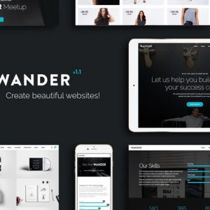 Wander | The Multi-Purpose Template