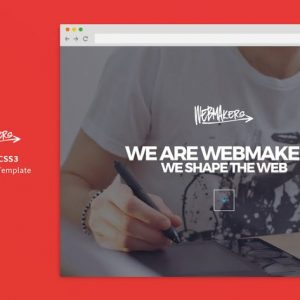 Webmakers - Single Page HTML/CSS Template