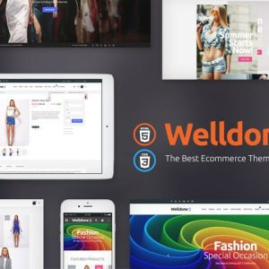 WellDone - HTML eCommerce website template