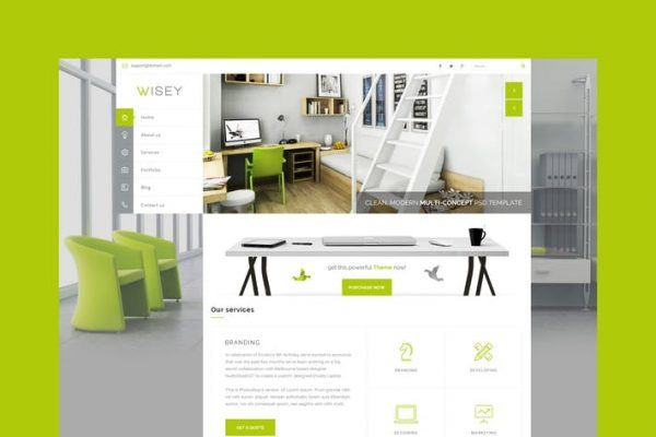 Wisey - Multi-Concept HTML Template
