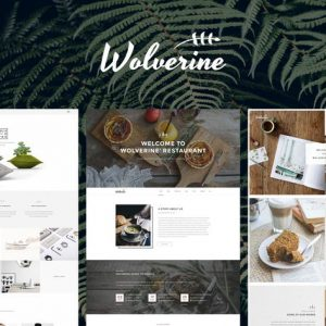 Wolverine Multipurpose HTML5 Template