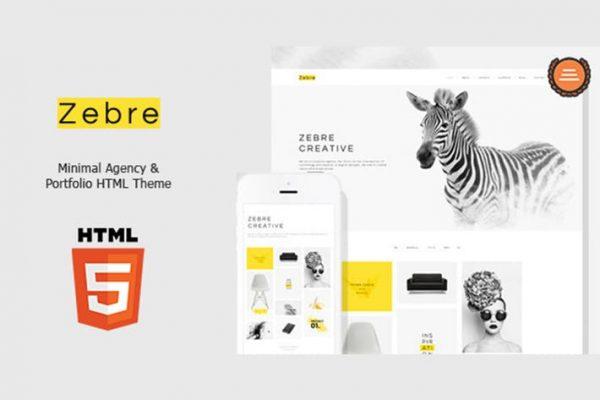 Zebre - Minimal, Agency & Porfolio HTML Theme