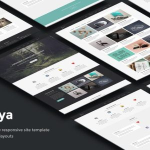 Zonya - Multipurpose Responsive Site Template