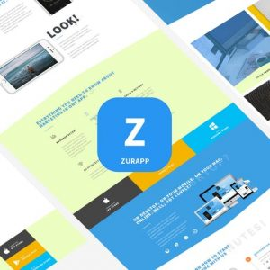 ZurApp - Multiconcept App Showcase Template