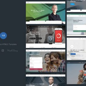 Zysk - Business & Finance HTML5 Template