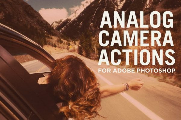 Analog Camera Actions for Adobe Photoshop