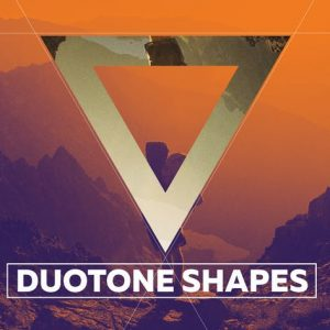 Duotone Geometric Shapes