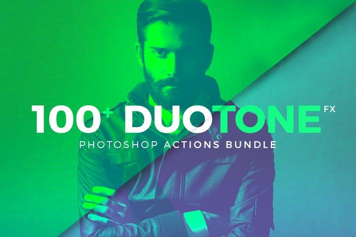 Duotone Photoshop Action Bundle