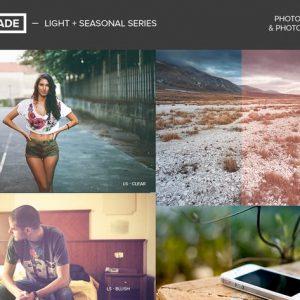 FilterGrade Light & Seasonal Photoshop Actions