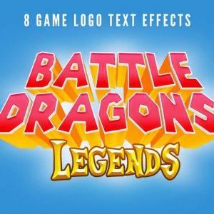 Game Logo Text Styles