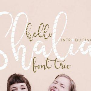 Hello Shalia - FONT TRIO