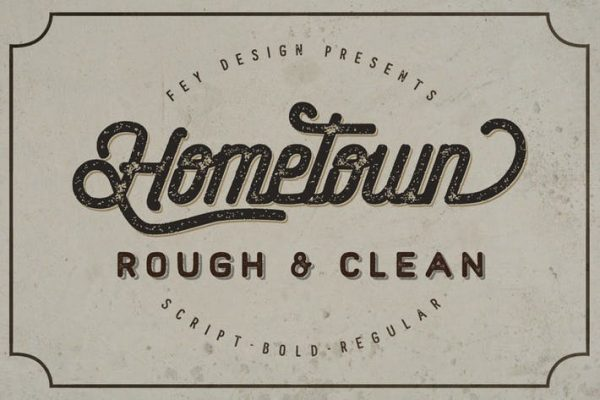 Hometown - Clean And Rough