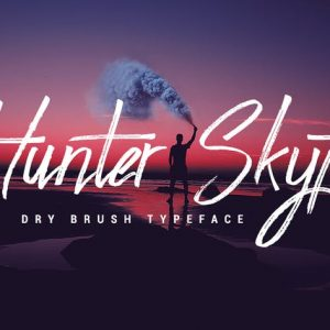 Hunter Skyfar - Dry Brush Script