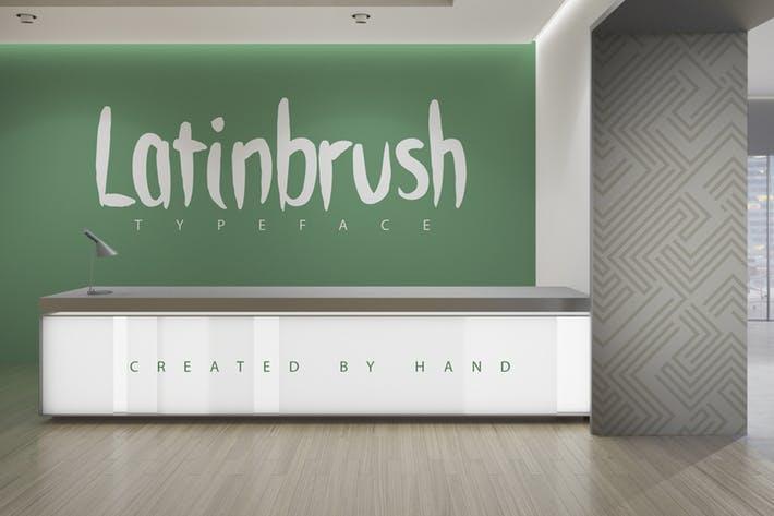 Latinbrush Family Typeface