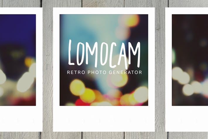 Lomocam - Retro Photo Generator