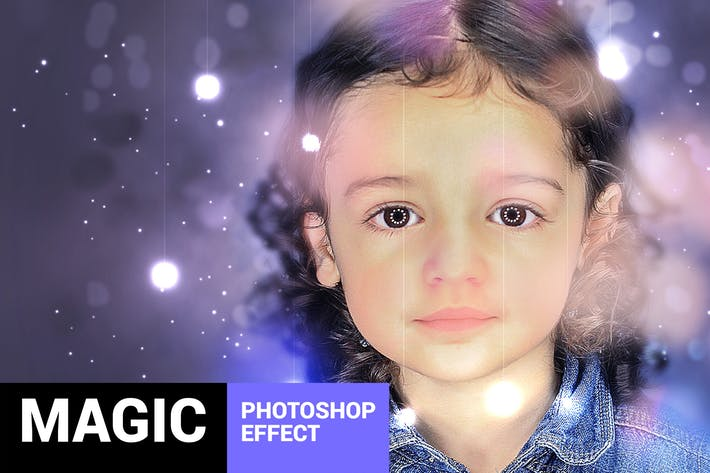 Magicum - Studio Lights Photoshop Action