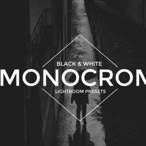 Monocrom B/W Lightroom Presets