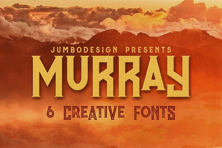 Murray - Vintage Style Font