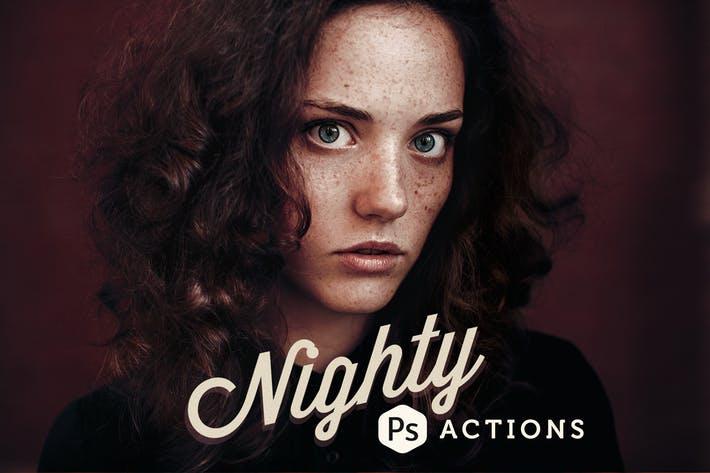 Nighty Photoshop Actions