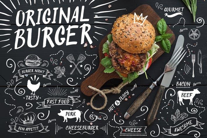 Original Burger Font