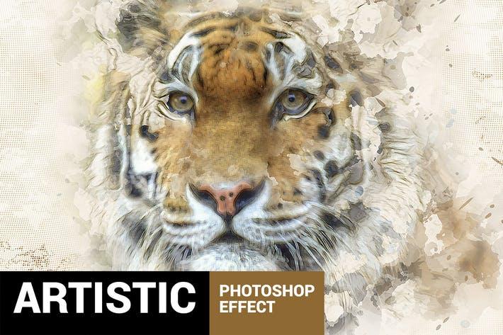Paintum - Sharp Painting Photoshop Action