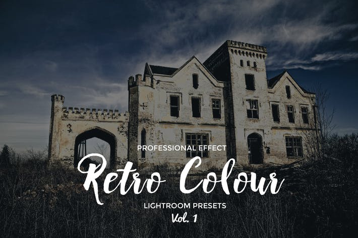 Retro Colour Lightroom Vol. 1