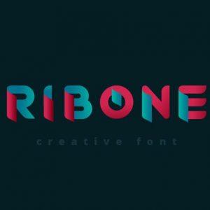 RibOne font