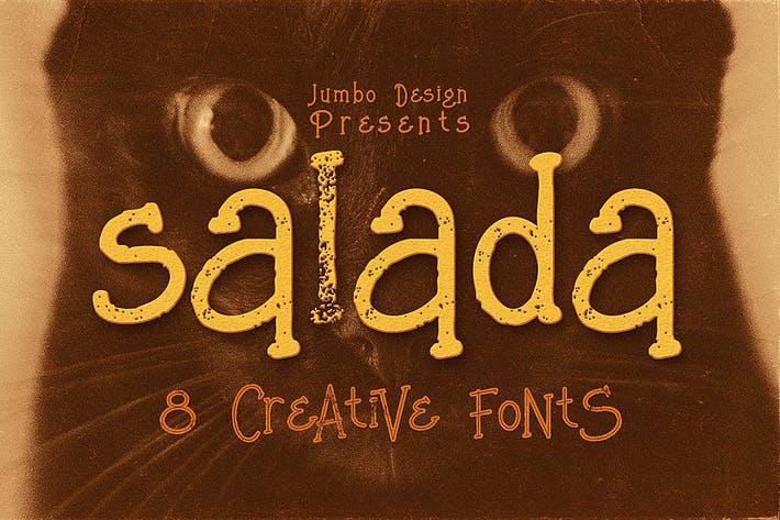 Salada - Funny Style Font