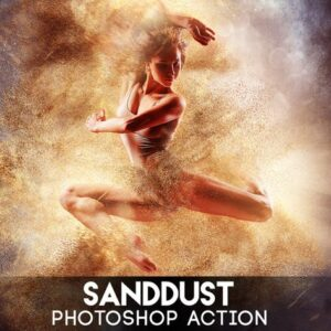 SandDust Photoshop Action