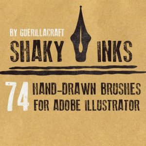 Shaky Inks for Adobe Illustrator