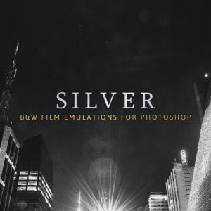 Silver – 28 Real B&W Film Emulations