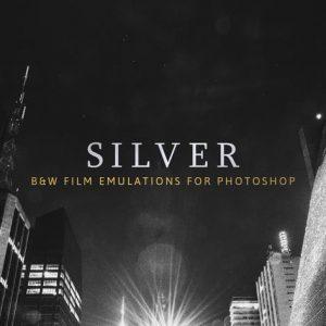 Silver – 28 Real B&W Film Emulations