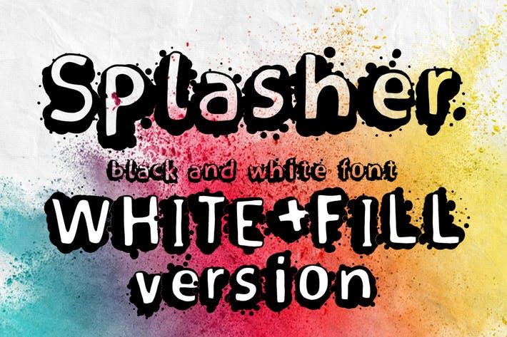 Splasher + WhiteFill version