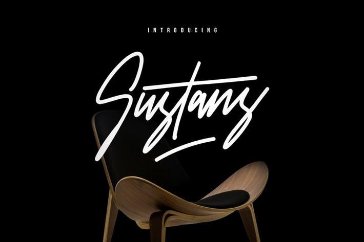 Sustans Typeface