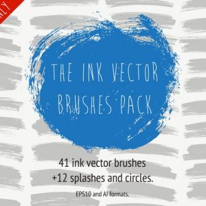 The Ink Vector Brush Pack