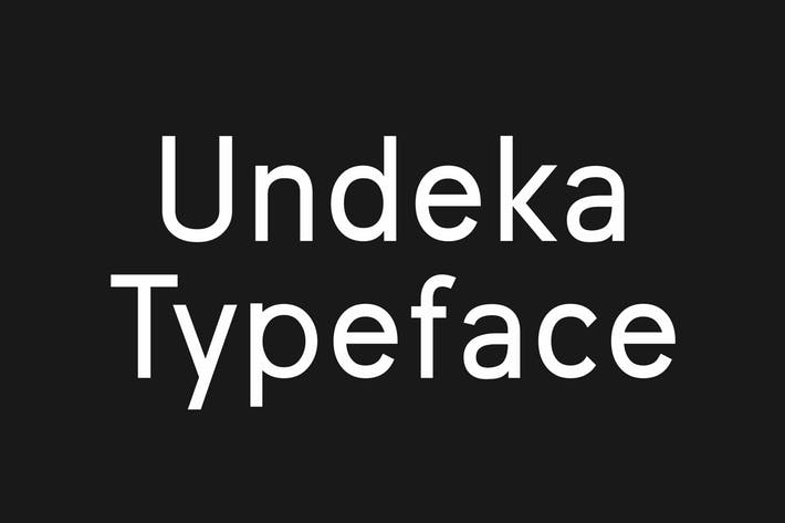 Undeka Regular Font