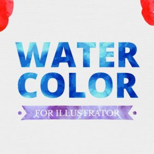 Watercolor for Illustrator