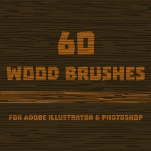 Wood Brushes for Adobe Illustrator
