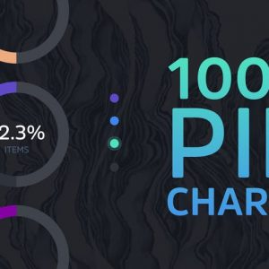 1000 Pie Charts Themes