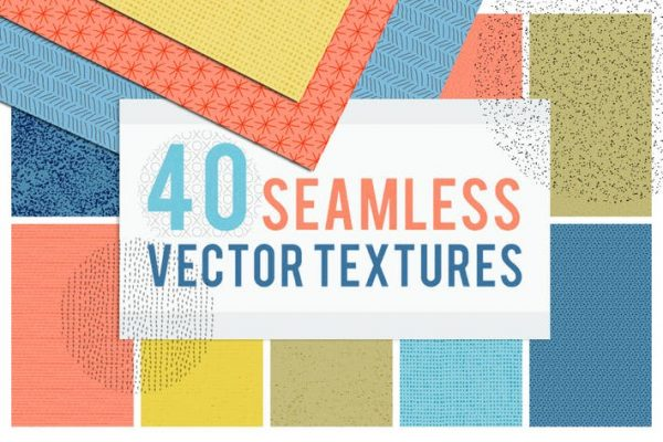 40 Seamless Tiling Vector Pattern Textures
