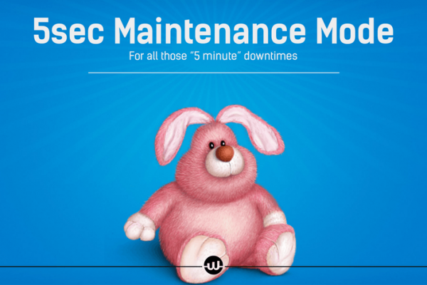 5sec Maintenance Mode