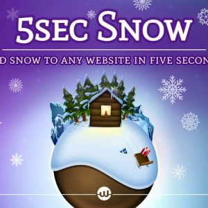 5sec Snow - Christmas Joy Generator
