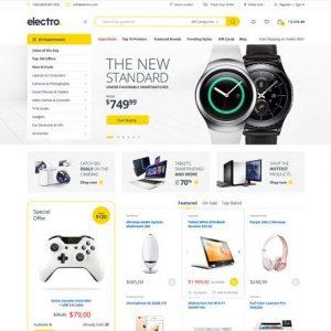 Electro - Electronics Store WooCommerce Theme